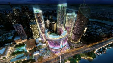 Echo Entertainment was always seen as the front runner for Brisbane's Queen's Wharf casino and integrated resort project.