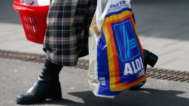 Dick Smith made the bold prediction Aldi will wipe out Woolies and Coles within 15 years.
