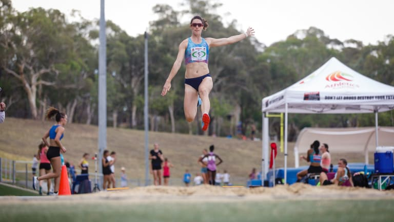 For the first time in nine years Wells also tested herself in long jump.