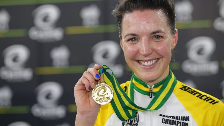 Canberra track cyclist Rebecca Wiasak is going to the Commonwealth Games.