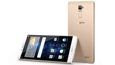 The Oppo R7 Plus has lightning-fast focusing capabilities, too.