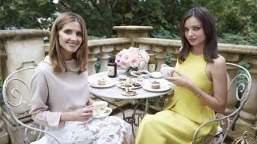 Miranda Kerr was once counted among the world's 10 highest-earning models. She talks to Kate Waterhouse (left).