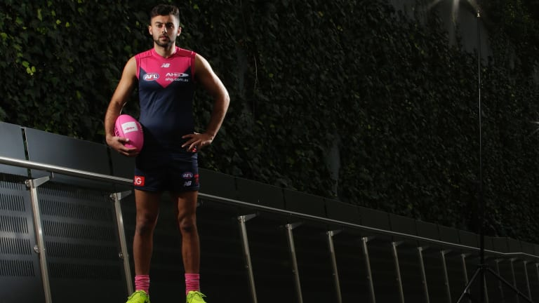 With injuries and illness behind him, Christian Salem is getting the consistency he craves