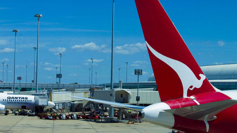Restructuring costs and writedowns: The national carrier is deeply in the red.