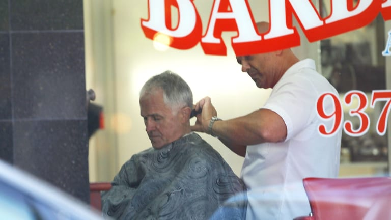 """He is a very good customer"": barber Brian Kandakji."