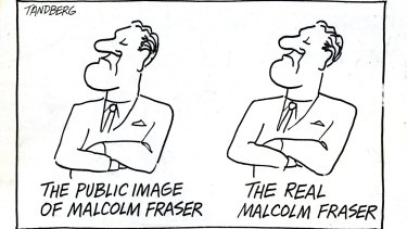 Tandberg's portrayal of Malcolm Fraser won him the 1979 Walkley Award.