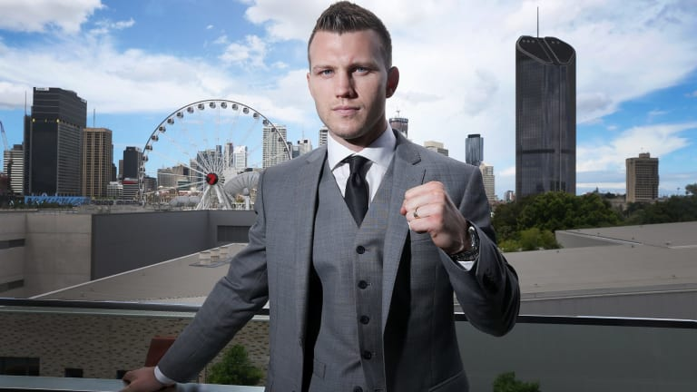 Ready: Jeff Horn will defend his WBO welterweight world title on Wednesday.
