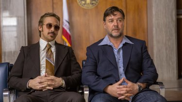 In <i>The Nice Guys</i>, Ryan Gosling and Russell Crowe turn out to be very funny, embellishing their performances with some noteworthy '70s fashion items.
