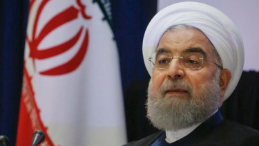 Iran's President Hassan Rouhani has accused Trump of attempting to sabotage the landmark nuclear accord between Iran and six world powers.