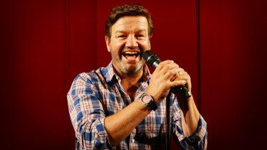 Lawrence Mooney is in the running for the Melbourne International Comedy Festival's Barry Award.