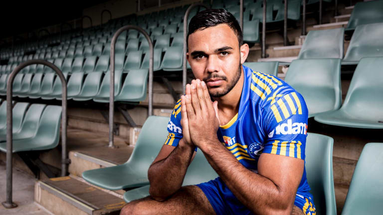 Bevan French is hoping to wear the Eels No.1 jersey next year.
