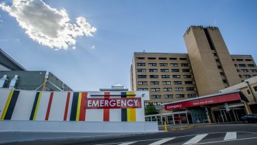 Technical restraints could prevent Canberra's light rail going to Canberra Hospital.