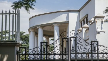 The Johannesburg residence of the Gupta family, whose members are close allies of Jacob Zuma, was raided by the South African police's investigative Hawks unit on Wednesday.
