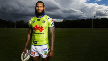 Au revoir: Sisa Waqa will leave the Raiders for French rugby in June.