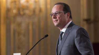 French President Francois Hollande said emergency services were mobilising.
