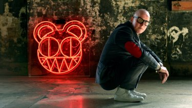 Stanley Donwood, aka Dan Rickwood, is in Sydney creating an installation for Semi-Permanent at Carriageworks which incudes his work with legendary band Radiohead.