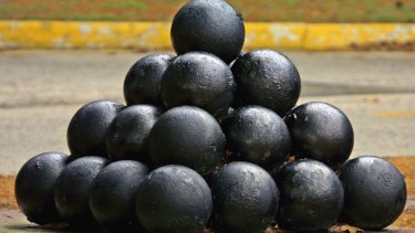 The problem stemmed from Sir Walter Raleigh wanting to efficiently count cannonballs.