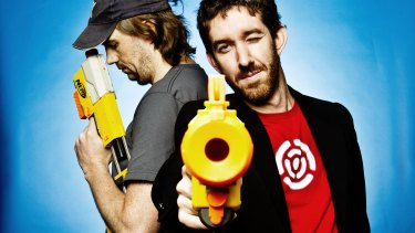 Atlassian co-founders Scott Farquhar (left) and Mike Cannon-Brookes have a new battle on their hands.