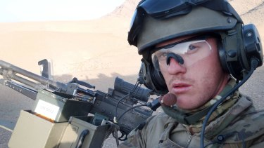 Private Robert Poate, who was killed on tour in Afghanistan in 2012. The facility is named after him.