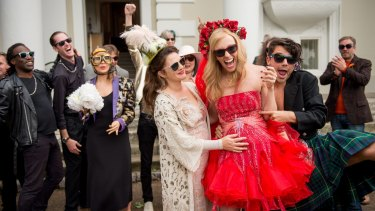 Jess (Drew Barrymore), Milly (Toni Collette) and Kit (Dominic Cooper) in <i>Miss You Already.</i>