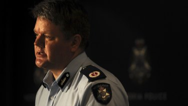Victoria Police Assistant Commissioner Luke Cornelius said the force had some ''dinosaurs'' who refused to change.