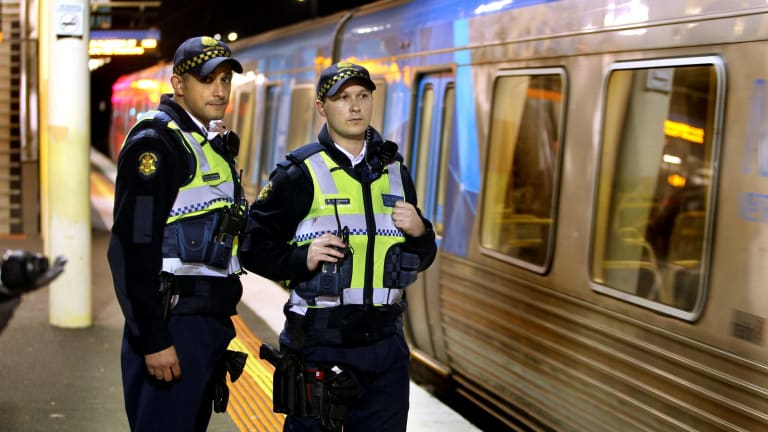 A question mark hangs over whether every train station needs to have PSOs on at night.
