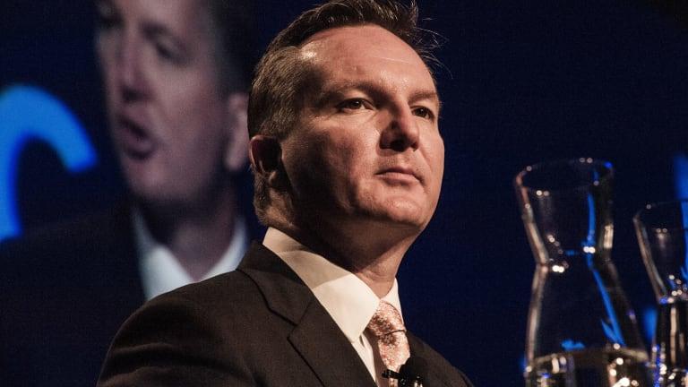 Shadow treasurer Chris Bowen says Australia's AAA credit rating is under threat.