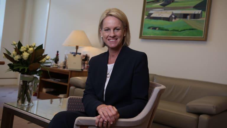 Senator Fiona Nash is Minister for Regional Development, which includes Norfolk Island.