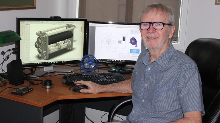 Engineering associate John Hanna is using online marketplace Upwork.
