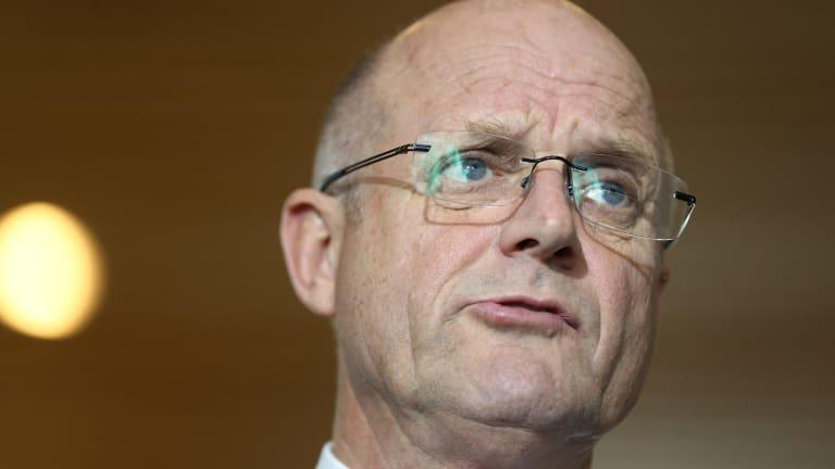 """We are a nation of victims"", says senator David Leyonhjelm."