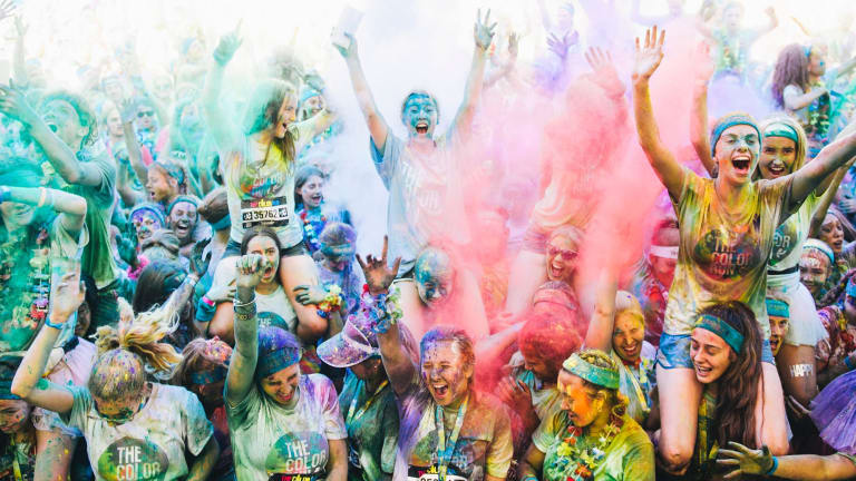 The Color Run debuted in Canberra in 2014 with  more than 10,000 runners.