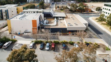 The Woden Tradies Union Club has been sold for $16 million to local developer Geocon. Photo: Sitthixay Ditthavong