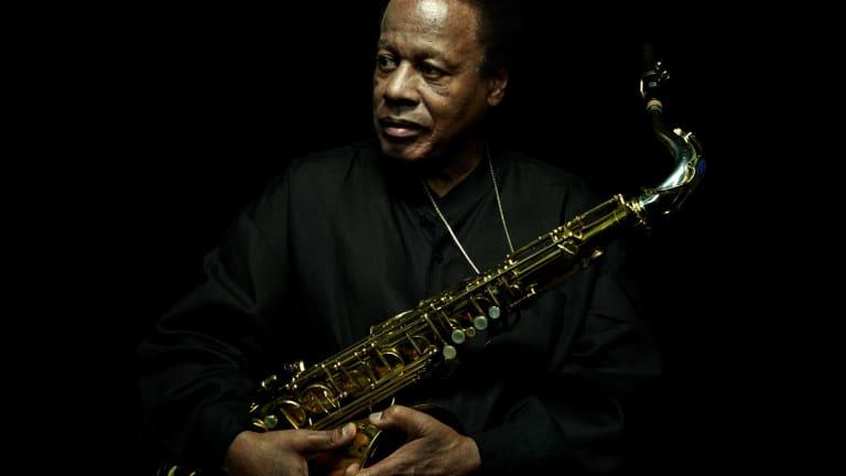 Jazz saxophonist Wayne Shorter.
