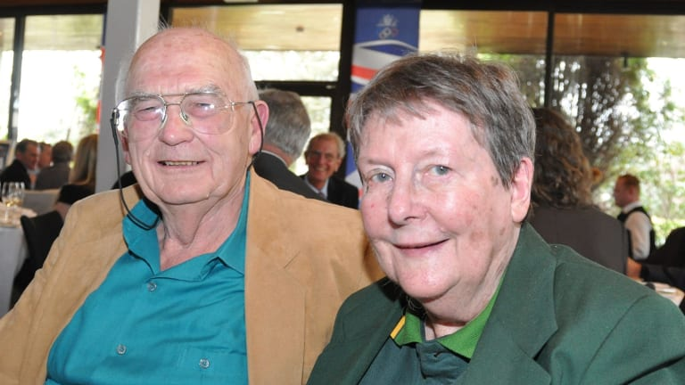 Denis and Judy Wilson together in 2012.