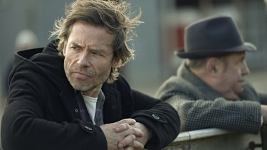 Guy Pearce in the ABC series <i>Jack Irish</i>.