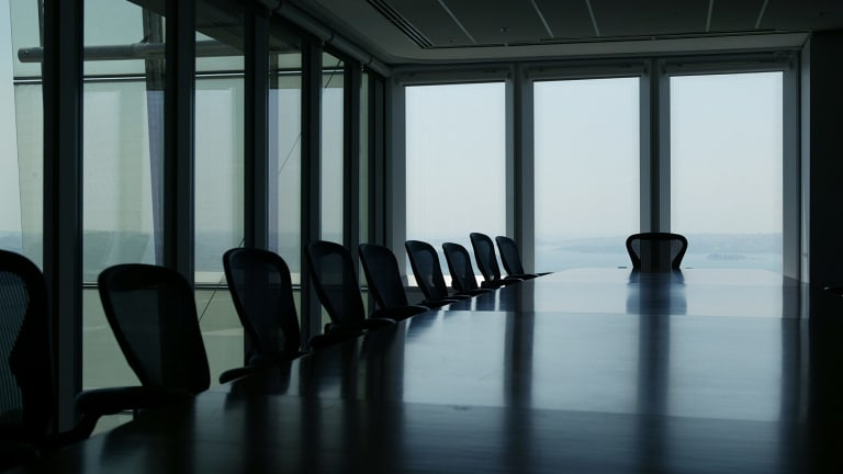 No seats for non-Anglo women at the board table.