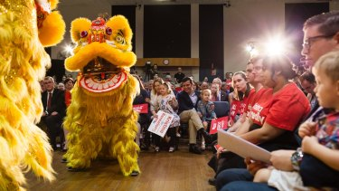Bennelong's large Chinese community has been central to the campaign.