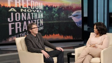 """""""I think the initial impression people got was that I think I'm too good for Oprah. That's not what I was saying"""": Jonathan Franzen."""