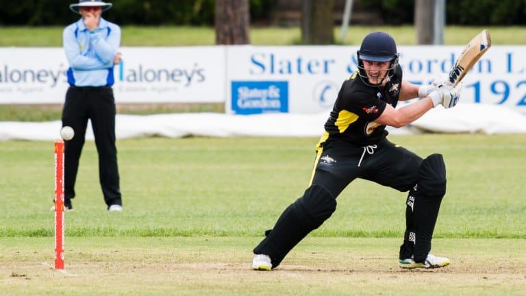 ACT Cricket Gallop Cup. Eastlake v Ginninderra Brad Thomas
