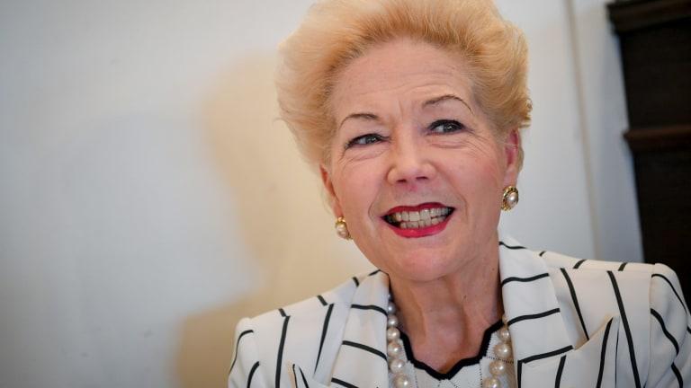 Former Bulldogs vice-president Susan Alberti.