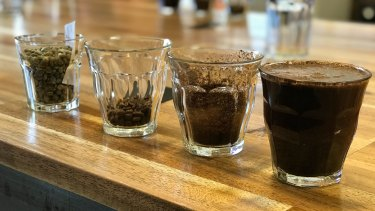 Stash Coffee roast, blend and taste-test every batch of coffee before it is sold.