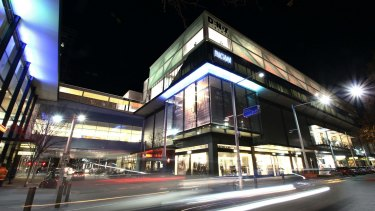 The proposed extension of the Dendy Cinemas complex in the Canberra Centre will mean the loss of 111 car parks.