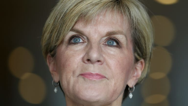 Foreign Affairs Minister Julie Bishop says she didn't discuss Joe Hockey's performance with Tony Abbott.