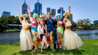 Guy Grossi and Karen Martini are this year's king and queen of Moomba.