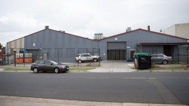 Population centre of Victoria: 113-115 Bakers Road, Coburg North.