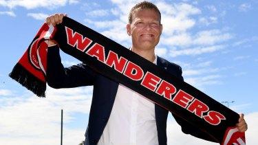 The man: New Western Sydney Wanderers coach Josep Gambau.