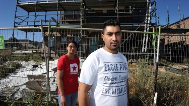 Satwant Singh and his wife Giagan Mann say their dream home has become a nightmare.
