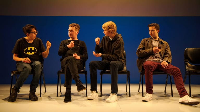 Gonzo presents teenagers as an intelligent, media-savvy audience who know fantasy from reality.