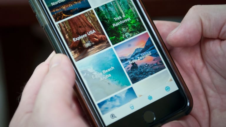 The app allows you to join existing bucket lists or build your own from scratch.
