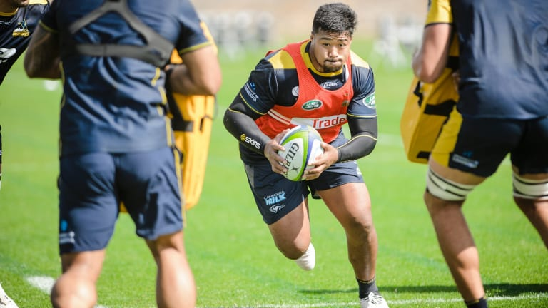 ACT Brumbies hooker Folau Faingaa will make his Super Rugby run-on debut on Saturday.